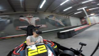 Go Karts in VR - VR.Sex