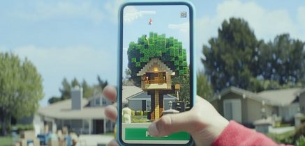 Minecraft AR app